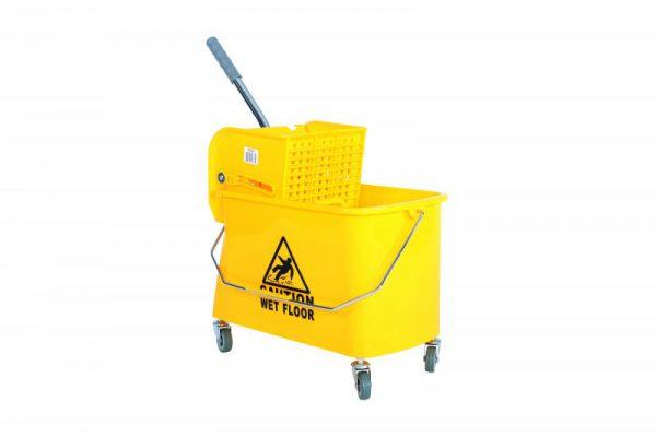 21 Quart Side Press Mop Bucket and Wringer