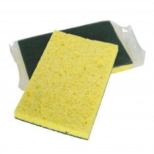 """6"""" X 4"""" H.D. Cellulose Scrub Sponge"""