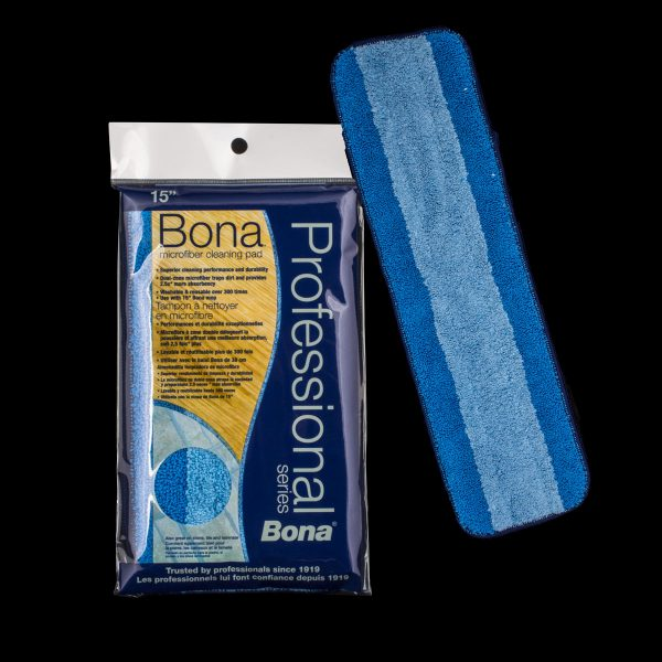"""Bona Microplus Mop Pad 4"""" X 15"""""""