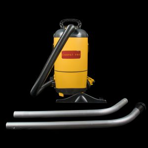 Carpet Pro Commercial Yellow Backpack Vacuum