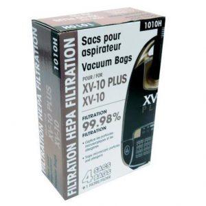 Johnny Vac XV10 &XV10 Plus HEPA Type Vacuum Bags 4 Pack