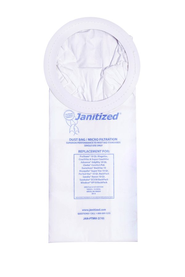 Karcher Janitized 10 QT Backpack Vacuum Bag BV 11