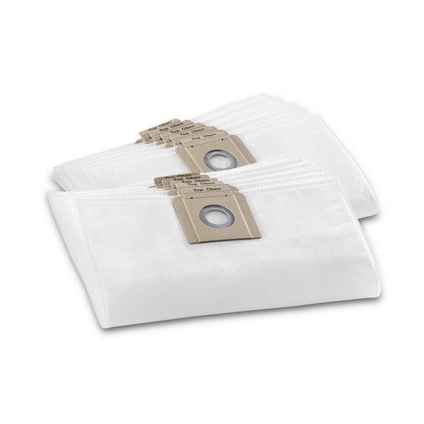 Karcher T10 / T12 Fleece Filter Vacuum Bag – 10 Pack