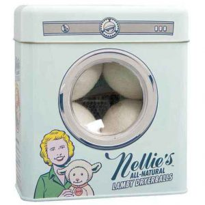 Nellie's Wool Dryer Ball Tin - 4 Pack