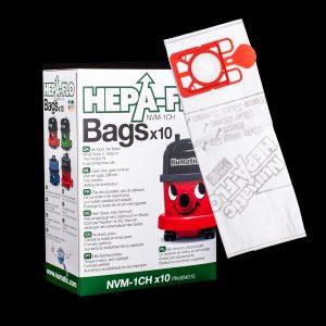 Numatic NMV-1CH HEPA Vacuum Bags 10 Pack – small