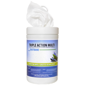 Triple Action Multipurpose Disinfecting Wipes - 120 Wipes