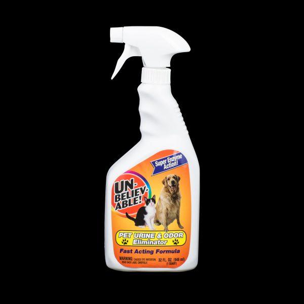 Unbelievable Pet Urine and Odor Eliminator 32oz Spray
