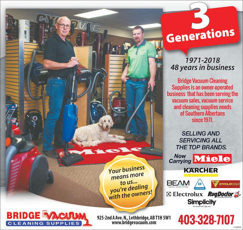 3 Generations Bridge Vacuum